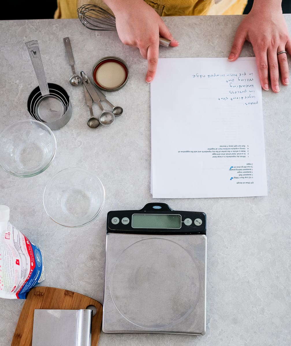why you should use a kitchen scale
