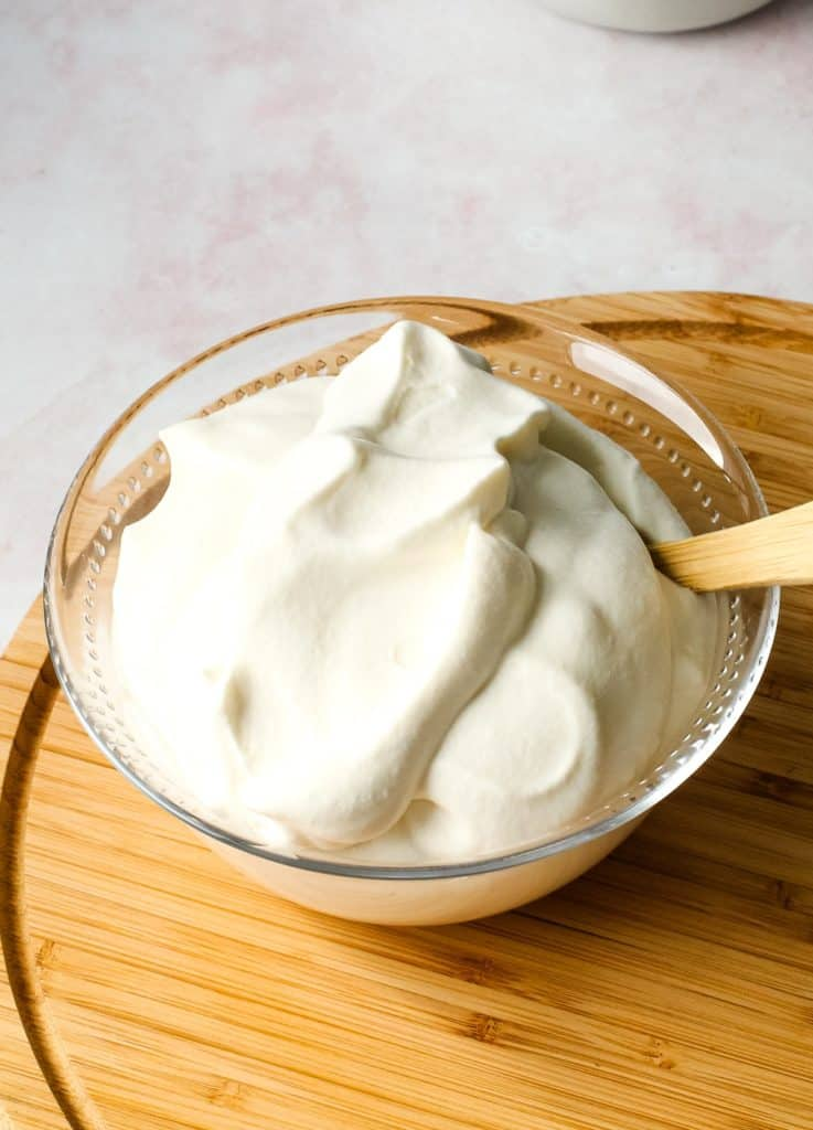 Whipped Cream by Hand