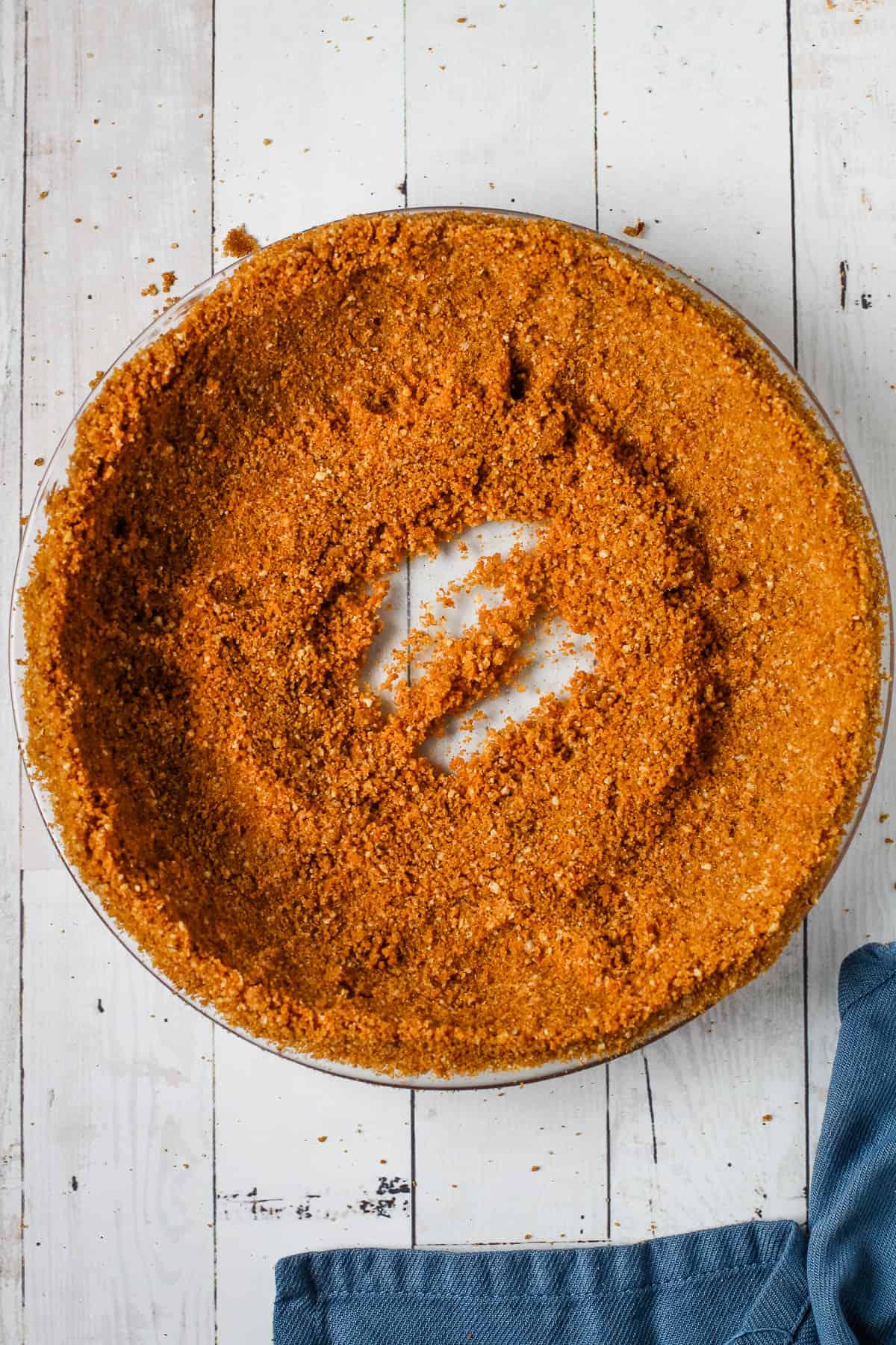 Easy gingersnap crust recipe