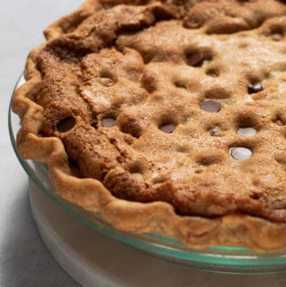 Tollhouse Chocolate Chip Cookie Pie