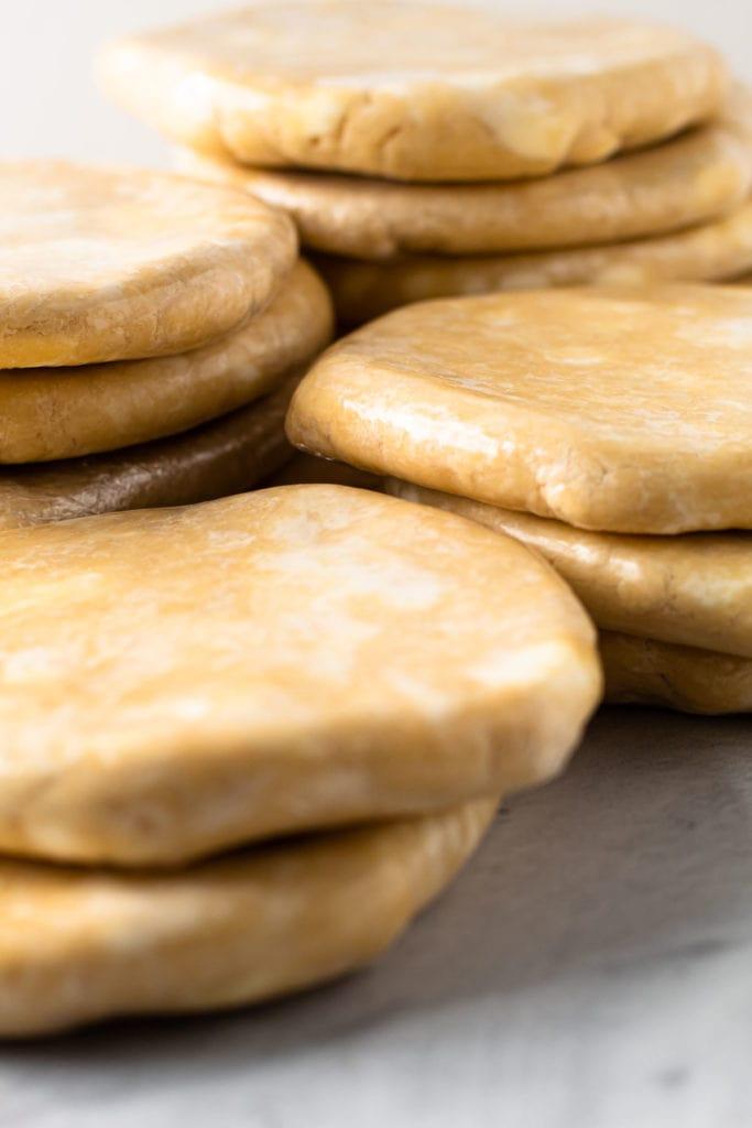All butter pie dough.