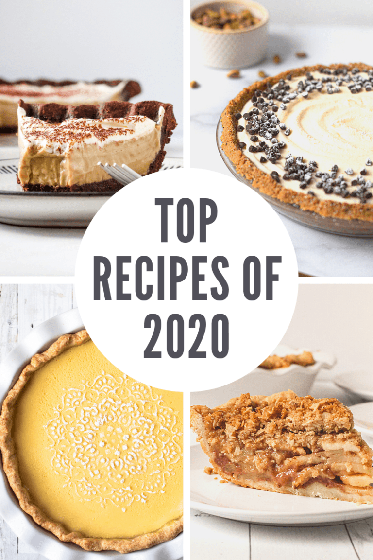 Top pie recipes of 2020.