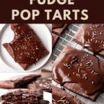 Chocolate fudge pop tarts.