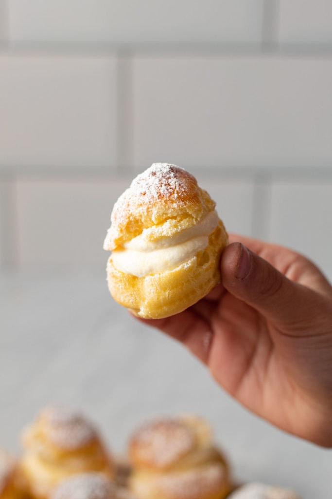 A cream puff.