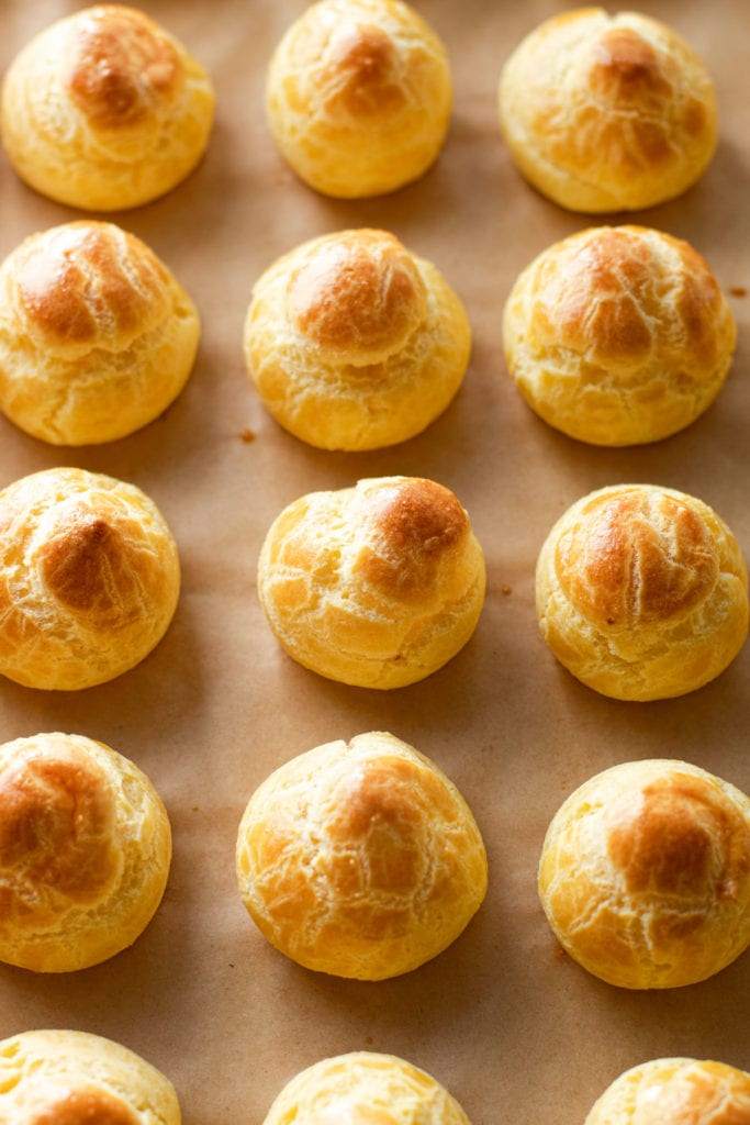 How to make pate a choux,