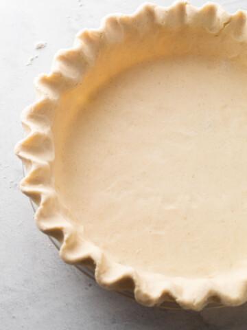 Gluten-free pie crust.