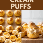 How to make cream puffs.