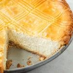 Sweet Italian Ricotta Pie.