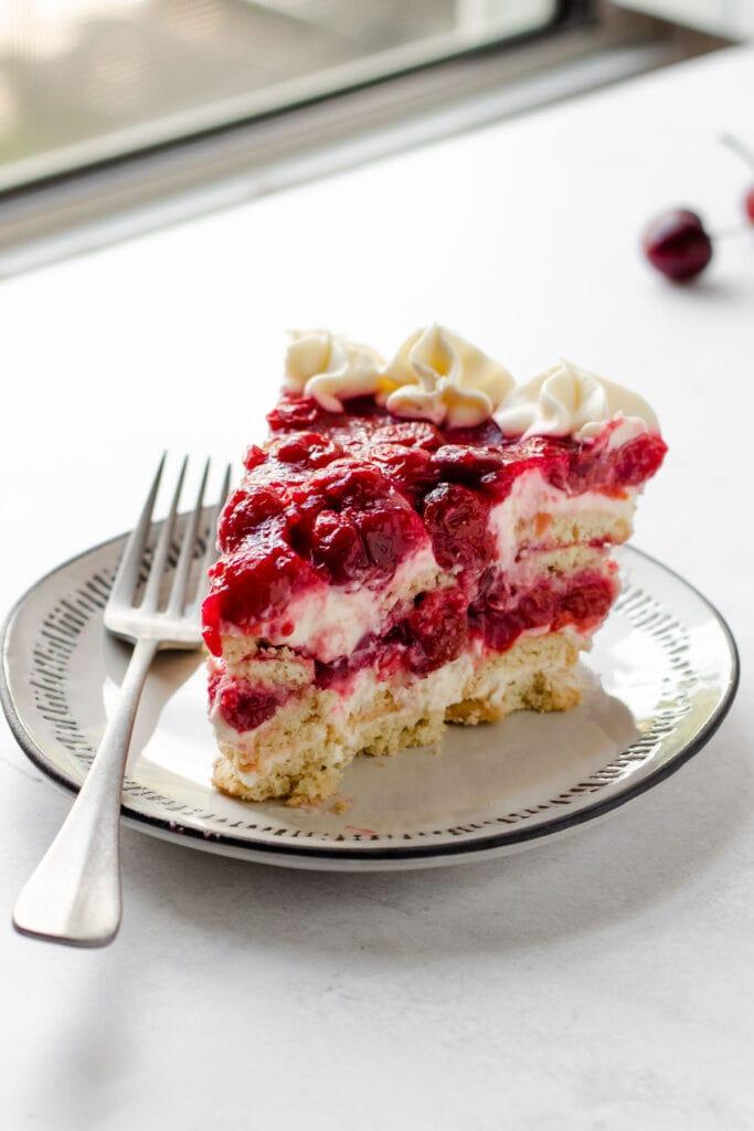 Icebox cherry pie.