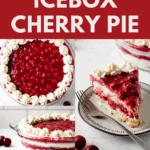 No Bake Cherry Pie
