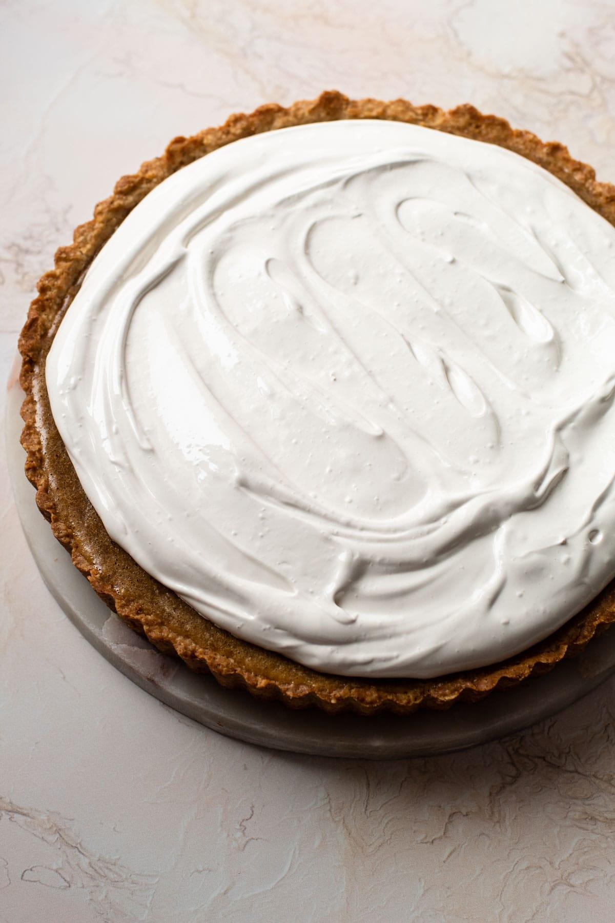 A fluffernutter pie.