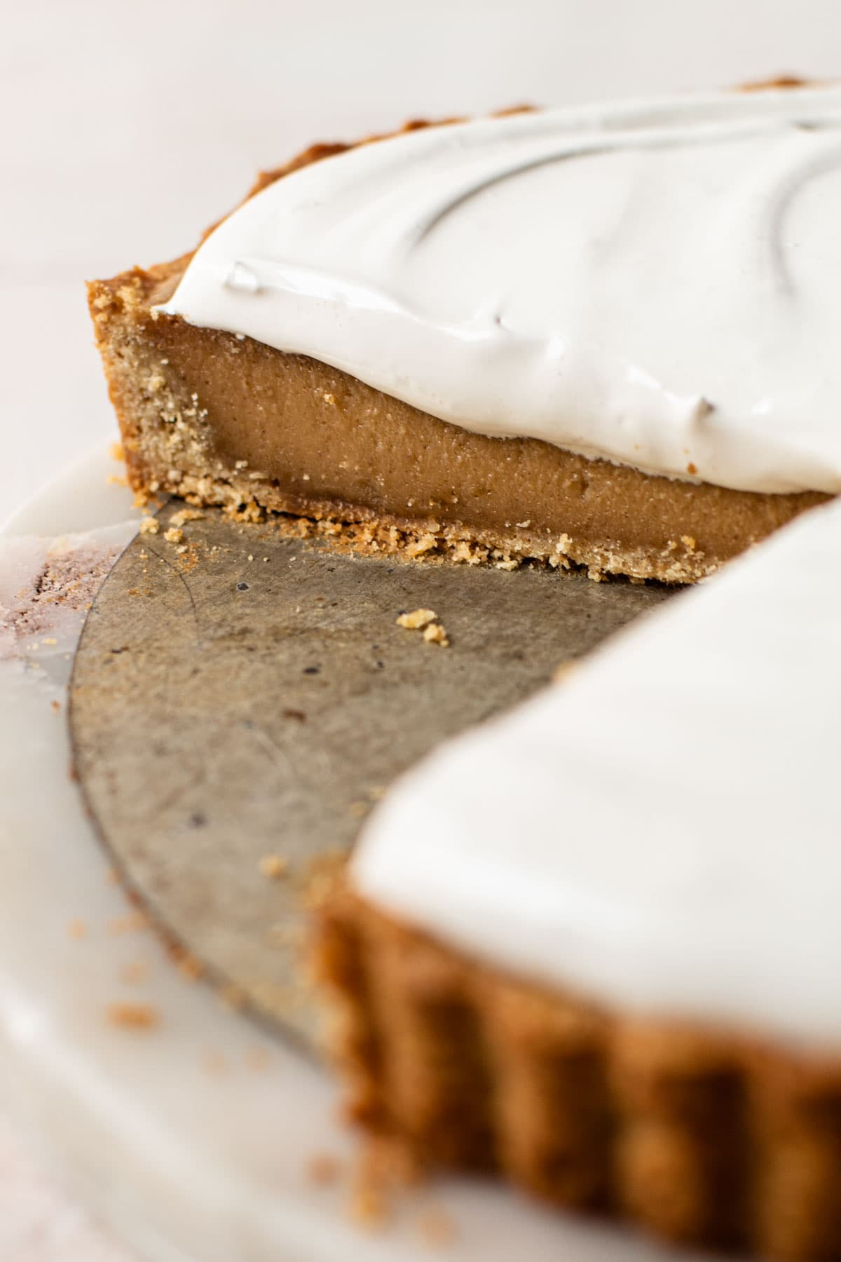 Peanut butter and fluff pie.