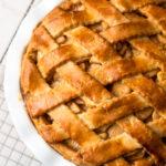 Gluten-free apple pie.