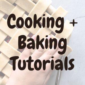 Cooking Tutorials